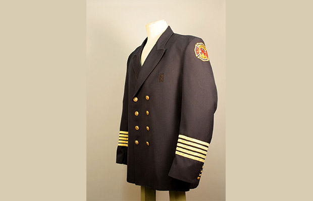 Things That Matter: Fire Chief Gregg Cleveland's dress uniform