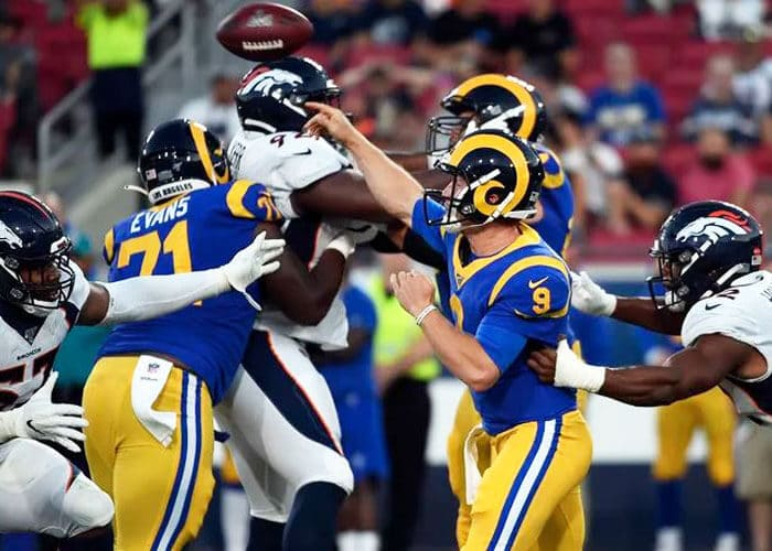 Los Angeles Rams Continue To Give Slight Hints For 2020 Uniform Change